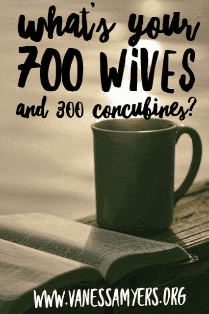 What's Your 700 Wives and 300 Concubines?